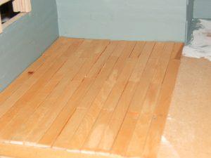 Mini wood flooring